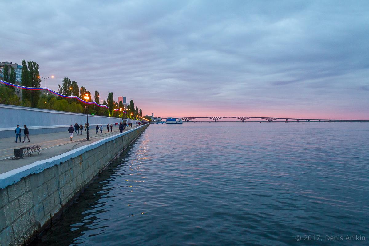 Саратовский мост - уникальное сооружение
